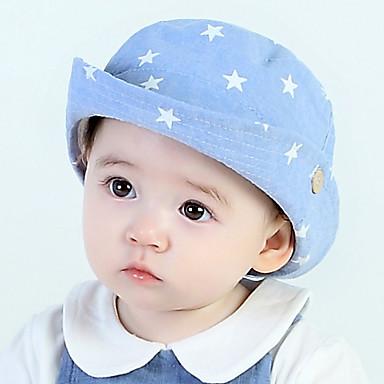 billige Tilbehør til barn-Baby Unisex Tegneserie Luer & Kaps Blå / Marineblå