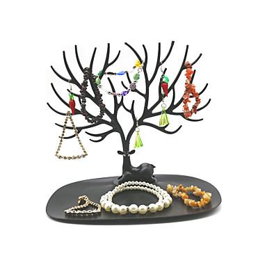 povoljno Nakit i ručni satovi-Nepravilan Stalci za nakit - pomodan, Moda Crna, Bijela 25 cm 15 cm 21 cm
