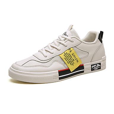Erkek Ayakkabı Örümcek Ağı İlkbahar yaz / Sonbahar Kış Günlük / Çıtı Pıtı Spor Ayakkabısı Günlük / Ev için Siyah / Bej
