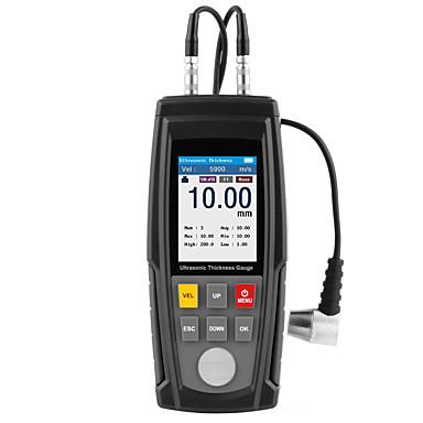 Wt130a dijital ultrasonik kalınlık ölçer ölçer cihazı usb şarj dijital kalınlığı metal tester yüksek hassasiyetli