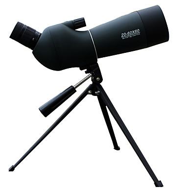 billige Kikkerter og teleskop-LUXUN® 20-60 X 60 mm Teleskop Objektiver Vanntett Høy definisjon Anti-Skli BAK4 Jakt Camping Camping / Vandring / Grotte Udforskning PP+ABS / Fuglekikking