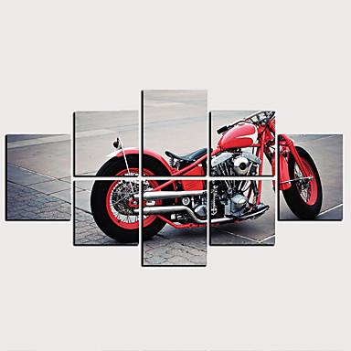 billige Trykk-Trykk Valset lerretskunst - Transport Klassisk Moderne Kunsttrykk