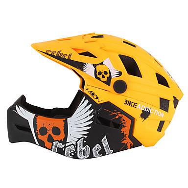 abordables Casques de Cyclisme-Enfant Casque de vélo BMX Casque 22 Aération PC (polycarbonate) EPS ABS + PC Des sports Activités Extérieures Cyclisme / Vélo - Noir / Rouge Noir / Orange. Jaune Unisexe