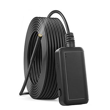 voordelige Microscopen & Endoscopen-5.5 mm lens Hd USB-endoscoop 1000 cm Werklengte Huis beveiliging Inspectie Snake Tube Autoreparatie Inspectie