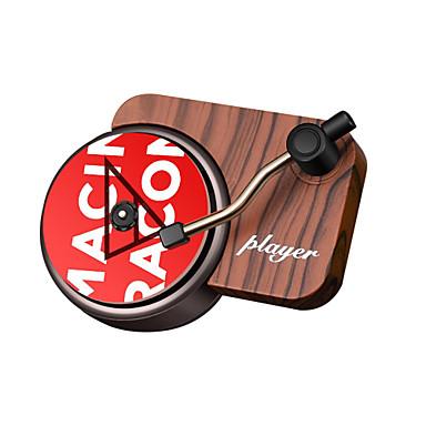 voordelige Auto-interieur accessoires-retro opname machine auto aromatherapie draaitafel luchtverfrisser luchtuitlaat aromatherapie aroma parfum diffuser