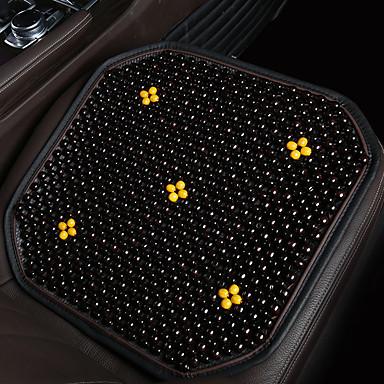 voordelige Auto-interieur accessoires-ademend autostoelkussen met natuurlijke kralen van esdoornhout