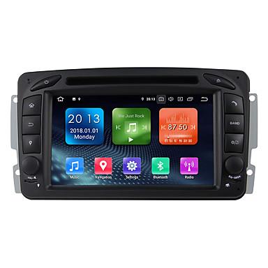 billige Bil Elektronikk-winmark 7 tommers android 9.0 i instrumentets bil DVD-spiller multimediasystem 2 din quad core 2g 16g wifi ex-3g dab for benz w203 s203 2000-2005 wn7063