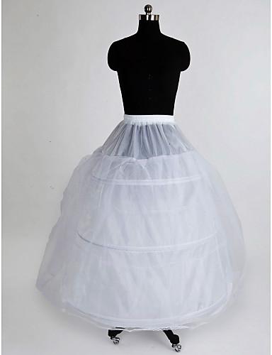 Hochzeit Besondere Anlässe Unterhosen Nylon Tülle Bodenlänge Abendkleid Mit