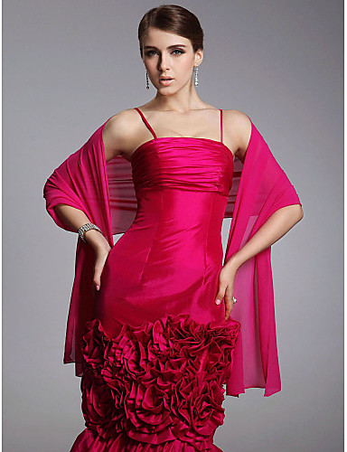 cheap Weddings & Events Clearance-Chiffon Wedding / Party Evening / Casual Wedding  Wraps / Shawls With Shawls