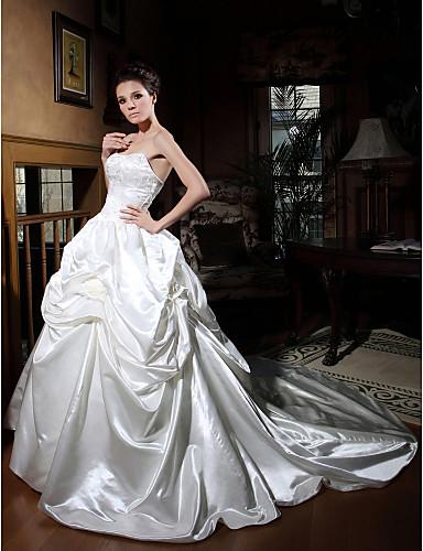 89b1861ba HARSHA - Vestido de Novia de Satén con Bolero 59708 2019 – $399.99