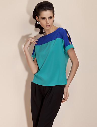 TS Color Block Short Shirt (More Colors)