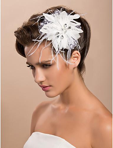 Gorgeous Tulle Wedding Bridal White Flower/ Corsage/ Headpiece