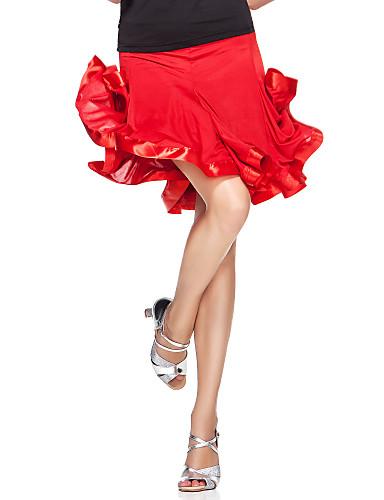 Dancewear viskoosi suorituskyky hameet naisille enemmän värejä