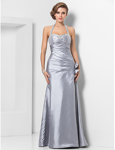 d1972d91cf Sheath   Column Sweetheart Neckline Floor Length Taffeta Prom   Formal  Evening Dress with Beading   Ruched by TS Couture®