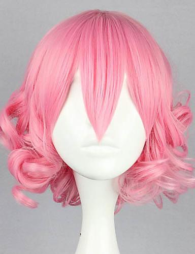 voordelige Cosplay Pruiken-Lolita Pruiken Schattig Blozend Roze Lolita Lolitapruik 32 inch(es) Cosplaypruiken Effen Pruiken Halloweenpruiken