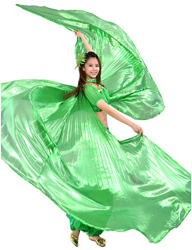 cheap Belly Dancewear-Dance Accessories Stage Props / Isis Wings Women's Training Polyester / Belly Dance / Performance