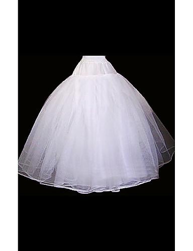 abordables Dessous de Robe de Mariage-Mariage Occasion spéciale Déshabillés Organza Ras du Sol Robe de soirée longue avec