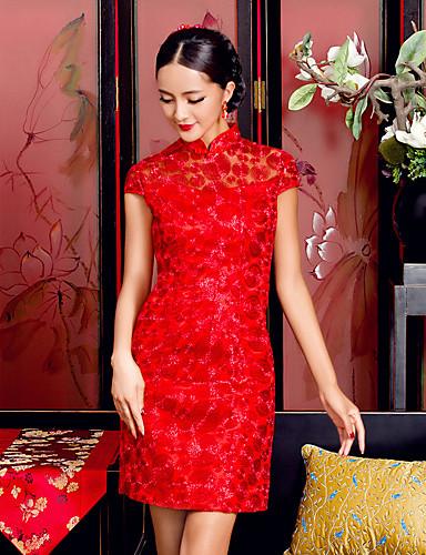 cheognsam čínská tradional svatební šaty