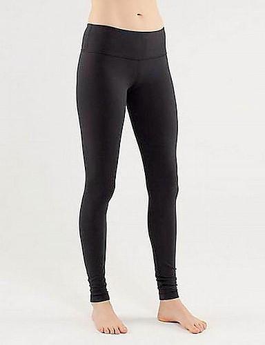 Damen Alltag Grundlegend Legging - Solide Mittlere Taillenlinie / Skinny