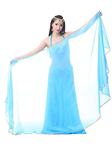 ベリーダンス ステージ用小道具 女性用 性能 シフォン ベール