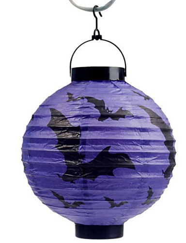 lilieci violet decorare model lanternă Holloween (bec exclus)