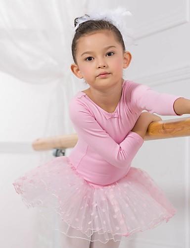 preiswerte Ballettbekleidung-Ballett Kleider / Kleider & Röcke / Balletröckchen Baumwolle Langarm / Aufführung