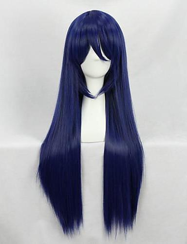 voordelige Cosplay Pruiken-Cosplay Umi Sonoda Cosplaypruiken Dames 32 inch(es) Hittebestendige vezel Int Blauw Anime