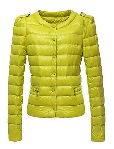 kakani női európai divat egyszínű pamut kabátot