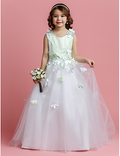 Weddings & Events Children Kids Flower Girls Dress Chiffon Sleeveless High-low Summer Casual Dress For Daily Holiday Party Beach Formal Dresses Fine Craftsmanship