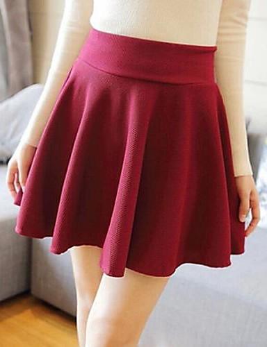 Women's Vintage Above Knee Skirts
