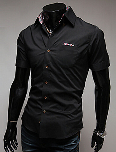 a6c842ac4ad Pánské - Jednobarevné Košile