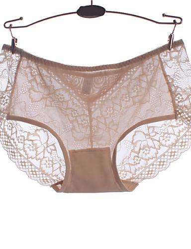 Naisten Muotoilevat alushousut,Jakardi Pitsi