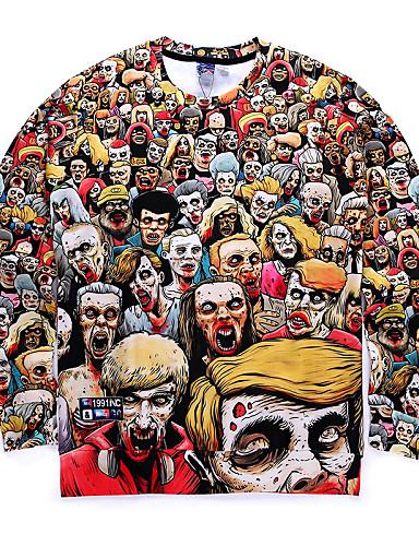 Herre Sport Sweatshirt - Trykt mønster
