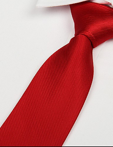 Men's Party Work Basic Necktie - Solid Colored