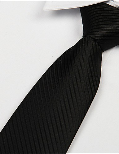Men's Party Work Basic Necktie - Solid Colored Classic Style