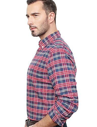 JamesEarl Muškarci Kragna košulje Dugi rukav Shirt & Bluza Srebrna - DA192034201