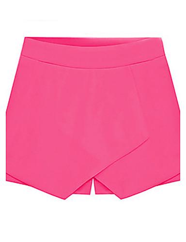 Pentru femei Pantaloni Scurți Pantaloni - În Straturi, Mată / Vară