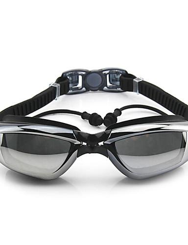 2d20920005c5b Gafas de natación Anti vaho Tamaño Ajustable Anti-UV Impermeable Gel de  sílice PC Blanco Gris Negro Azul Rosa Gris Negro Azul Claro Morado