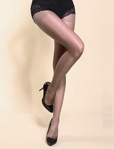Damer Strømpebukse Tynn Silke