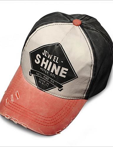 남여 공용 빈티지 귀여운 파티 작업/오피스 캐쥬얼 야구 모자 면