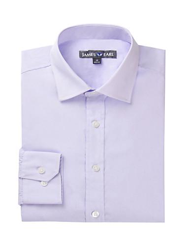 JamesEarl Muškarci Kragna košulje Kratki rukav Shirt & Bluza Crvena-DA202044818