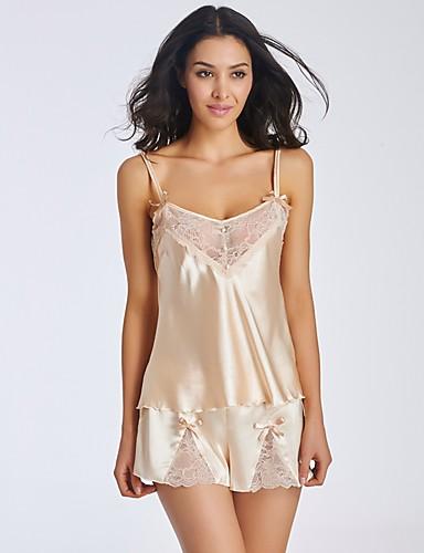 Lingerie en Dentelle Bustiers Correspondants Robe de chambre Ultra Sexy Uniformes & Tenues Chinoises Nuisette & Culottes Chemises &