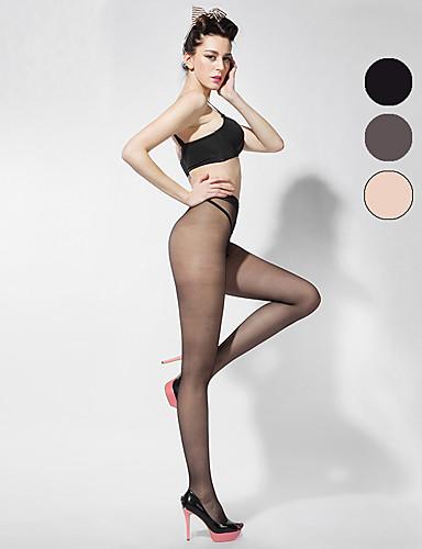 BONAS® Damen Einheitliche Farbe Dünn Legging-B16586