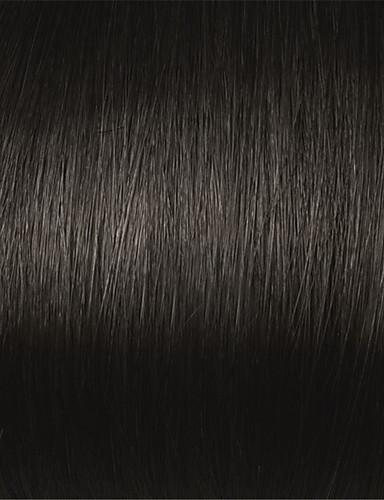 povoljno Perike s ljudskom kosom-Ljudska kosa Perika s prednjom čipkom bez ljepila Lace Front Perika stil Brazilska kosa Wavy Perika 130% 150% Gustoća kose 20-24 inch s dječjom kosom Prirodna linija za kosu Afro-američka perika 100