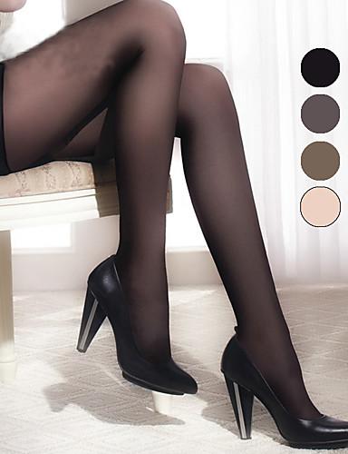 BONAS® Damen Einheitliche Farbe Dünn Legging-B16589