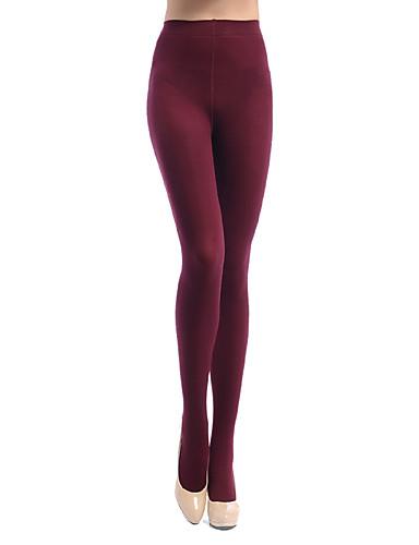 Femme Nylon Spandex Couleur Pleine Legging,Cet article est à TAILLE CORRESPONDANTE à votre taille normale.