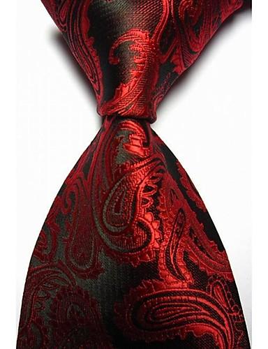 Herre Fest Kontor Grunnleggende Slips Paisly Bomull Rayon Polyester