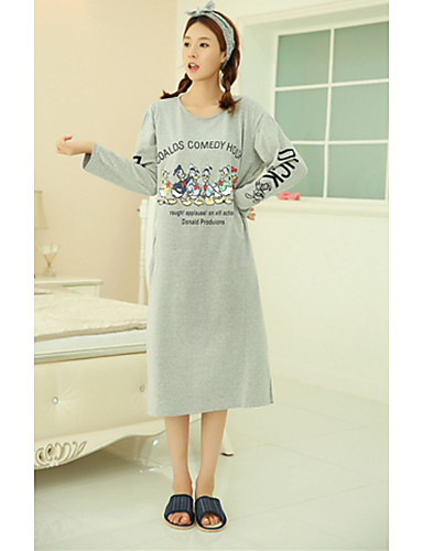 Katoen-Vrouw-Pyjama