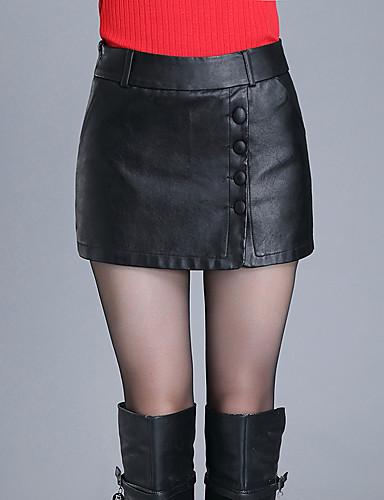 Mulheres Tamanhos Grandes Jeans Calças - Sólido
