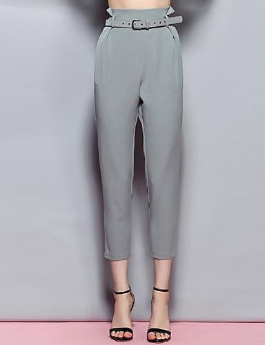 sybel kvinders massive grå chinos bukser, sexet / sød / street chic